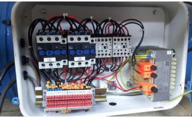 Блок-управления в сборе для односкоростной  тали с электр. тележкой 380V2т