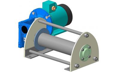 Лебёдка подъемно-монтажная ЛЧ-200Т(М) электрическая 160 м / 0.2 т
