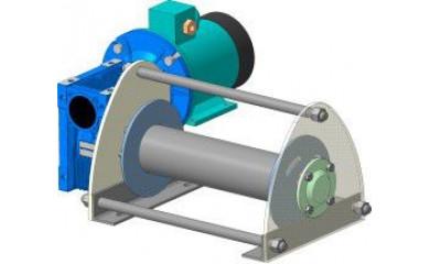 Лебёдка подъемно-монтажная ЛЧ-300Т / ЛЧ-300М электрическая 130 м / 0.3 т