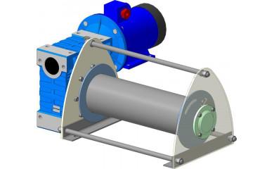 Лебёдка подъемно-монтажная ЛЧ-1000Т / ЛЧ-1000М электрическая 150 м / 1.0 т