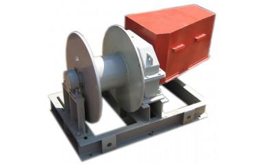 Лебёдка ЛМ-3,2М электрическая 400 м / 3.2 тонн для рыболовецкого сейнереа, выборка сетей и трала