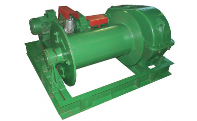 Лебёдка подъемно-монтажная ТЛ-10А (ТЭЛ-10) электрическая 400 м / 10 тонн