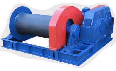 Лебёдка подъемно-монтажная ЛМ-10А (ЛМ-10) электрическая 400 м / 10 тонн
