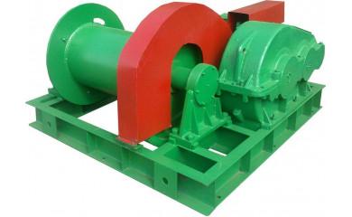 Лебёдка тяговая-монтажная ЛМ-15А (ЛМ-15) электрическая 300 м / 15 тонн