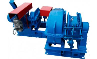Лебёдка тягово-маневровая ЛЭМ-5Ш2 электрическая 220 м / 315 тонн