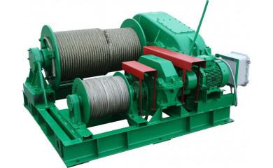 Лебёдка тягово-маневровая ТЛ-8М электрическая 350 м / 500 тонн