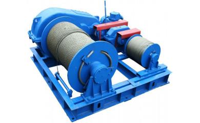 Лебёдка тягово-маневровая ТЛ-10М электрическая 220 м / 315 тонн
