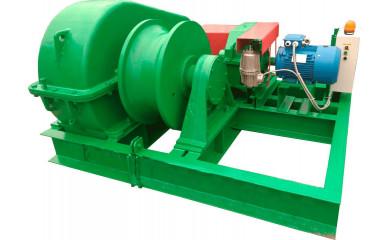 Лебедка тягово-маневровая ЛЭМ-20БР брашпильная электрическая 220 м / 1070 тонн