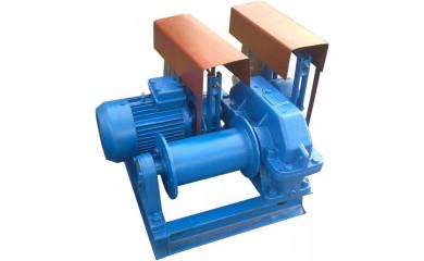 Лебедка рамоподъемная ЛР-1 электрическая 50 м / 1 тонн