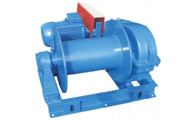 Лебедка папильонажная для земснаряда ЛП-5 электрическая 250 м / 5.0 тонн