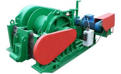 Лебедка рамоподъемная ЛР-8 электрическая 80 м / 8.0 тонн