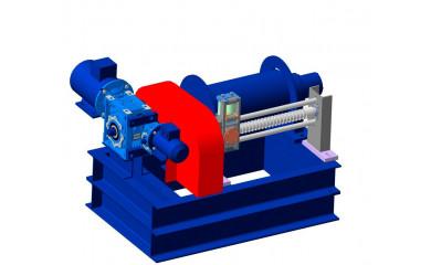 Лебедка специальная фрикционная электрическая 500 м / 0.1 тонн