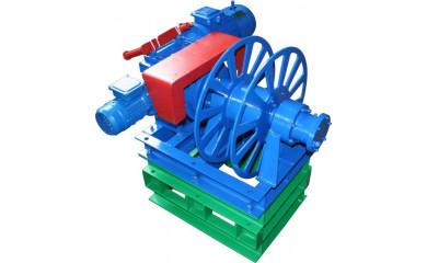 Лебедка специальная электрическая 600 м / 0.05 тонн (50 кг) для выборки каната