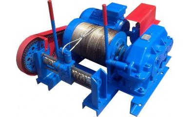 Лебедка ТЛ-16 специальная электрическая 300 м / 0.25 тонн (250 кг) для выборки каната