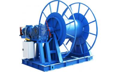 Лебедка ЛСМ-3 электрическая 1500 м /  3.0 тонн (3000 кг)