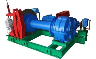 Лебедка ЛС-3 электрическая 600 м /  3.5 тонн (3500 кг) специальная