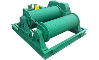 Лебедка маневровая специальная электрическая 2 х 80м  /  5.0 тонн