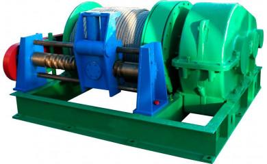 Лебедка буксировочная ТЛ-15Ф электрическая 500м  /  15 тонн