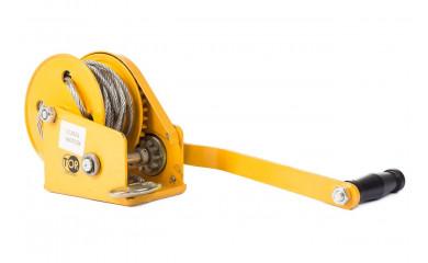 Лебедка ручная барабанная TOR BHW 500 - 0.5 тонны / 20 метров