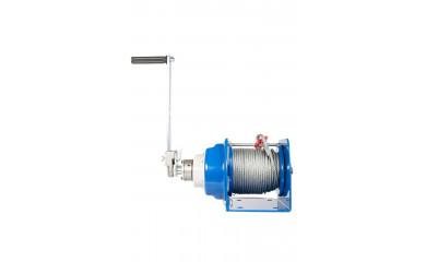Лебедка ручная барабанная TOR JHW 1000 - 1.0 тонна / 40 метров