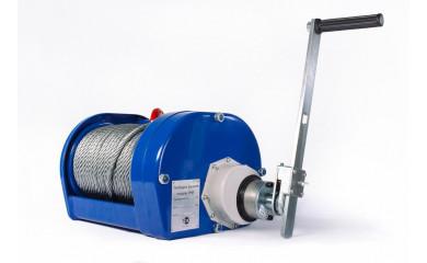 Лебедка ручная барабанная TOR JHW 3000 - 3.0 тонна / 40 метров