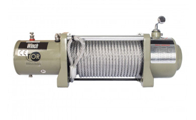 Лебёдка автомобильная TOR S12000 (5443 кг/28 м) 12V