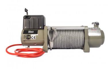 Лебёдка автомобильная TOR SEC15000 (6804 кг/28 м) 12V