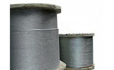 Канат стальной двойной свивки типа ЛК-О конструкции 6х7(1+6)+1х7(1+6)