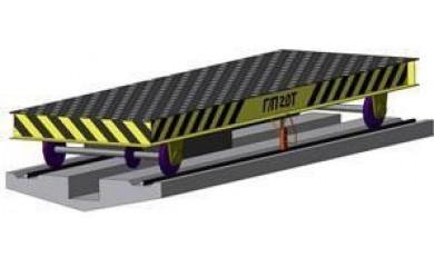 Тележка транспортная механизированная ТМТ 2101 г/п 10т