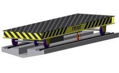 Тележка транспортная механизированная ПМН 206-10 г/п 10т