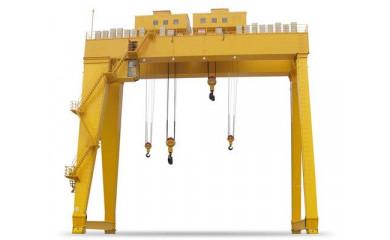 Козловой двухбалочный кран 32 тонн / 6 - 20 метров подъем