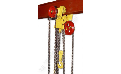 Таль ручная червячная передвижная ТРЧП-Ex-1,0 (г/п 1000 кг - 3, 6, 9, 12 метров) взрывобезопасного исполнения