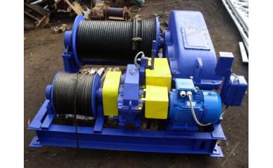 Лебедка электрическая специальная 100кН / 10 тонн